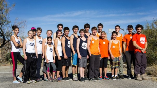 Team ABC Boulder Elite Team Hueco Tanks 2012 Thanksgiving