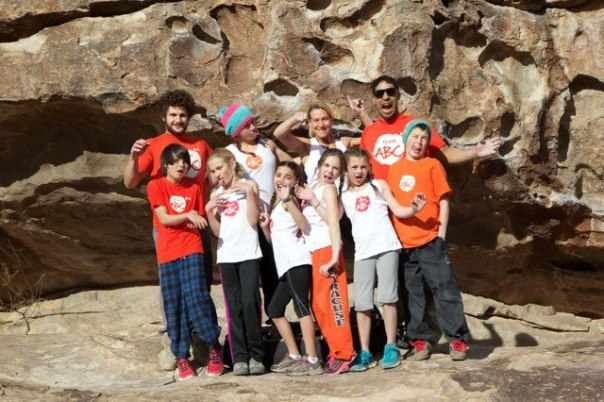 Team ABC Boulder athletes and coaches in Hueco!