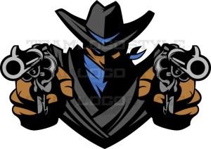 Bandit Logo - Vector Mascot Clipart
