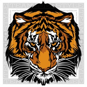 Tiger Clipart - Graphic Vector Image