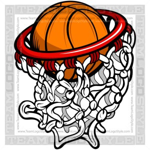 Basketball Hoop Logo
