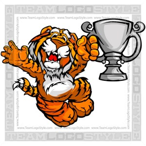 Tiger Champion Clipart