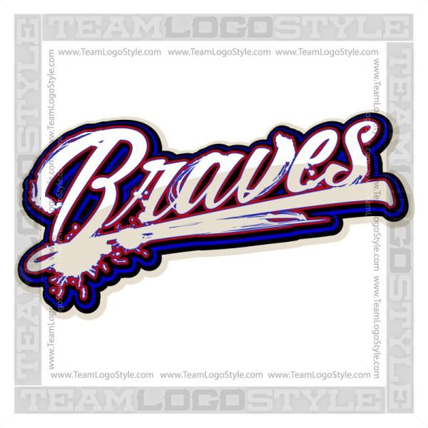 Braves Shirt Logo - Vector Clipart image