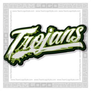 Trojans Shirt Logo - Vector Clipart image