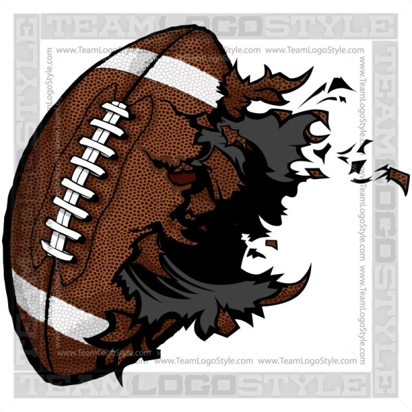 Vector Football Clipart