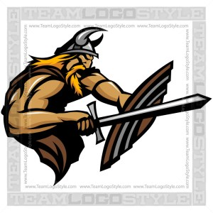 Viking Graphic - Vector Clipart Graphic