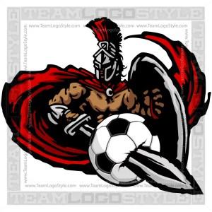 Titan Soccer Graphic - Vector Clipart Design