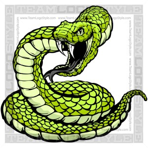 Snake Clipart - Vector Mascot Graphic