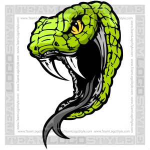 Snake Graphic - Vector Mascot Graphic