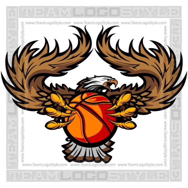 Eagle Basketball Logo