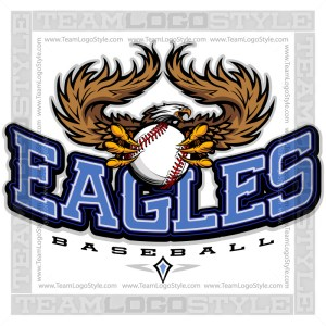Team Logo Eagles Baseball