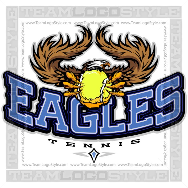 Team Logo Eagles Tennis