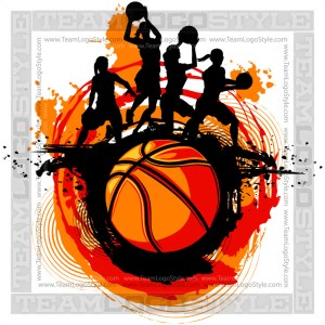 Girls Basketball Clip Art