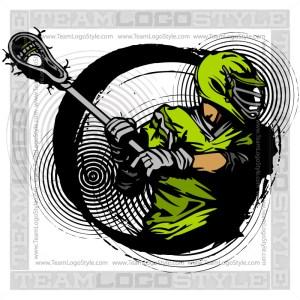 Lacrosse Player Clip Art