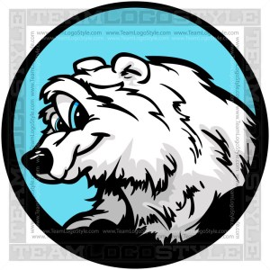Polar Bear Clip Art Cartoon Image