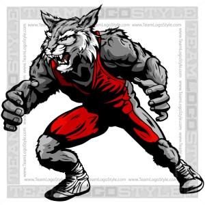 Wildcat Wrestler Clip Art