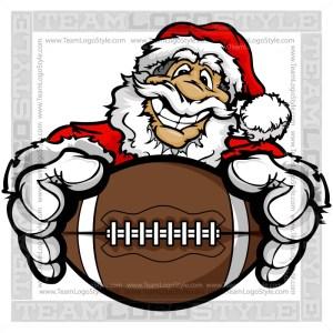 Santa Football Clip Art