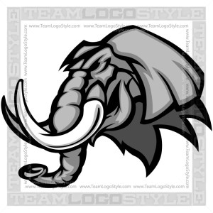 Vector Elephant Graphic