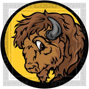 Buffalo Head Clip Art