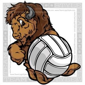 Buffalo Holding Volleyball