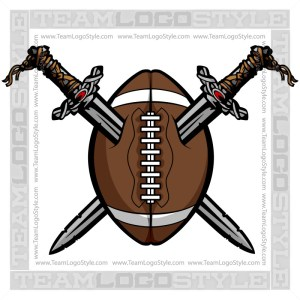 Viking Football Clipart
