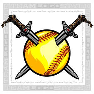 Viking Softball Clip Art