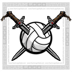 Viking Volleyball Clip Art