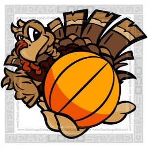 Basketball Thanksgiving Turkey