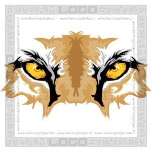 Cougar Eyes Clip Art