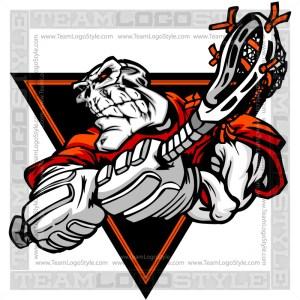 Skeleton Lacrosse Clip Art