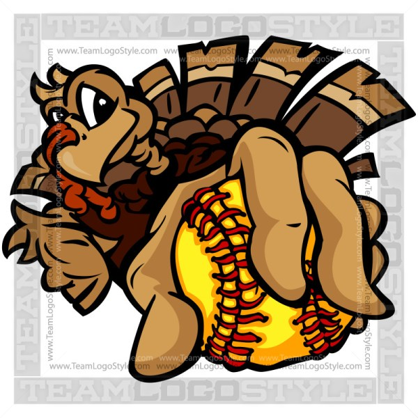 Softball Thanksgiving Turkey