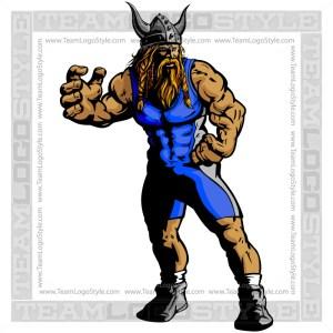 Wrestling Viking Image