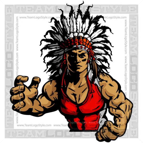 Chief Wrestler Clip Art