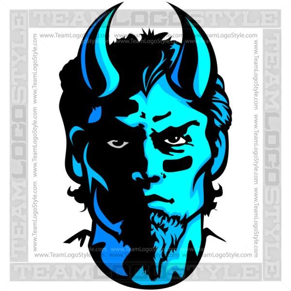Demon Mascot - Vector Graphic