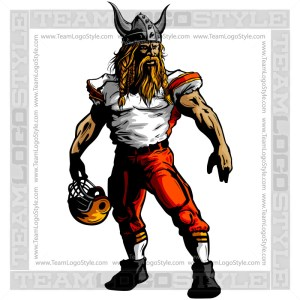 Viking Football Player