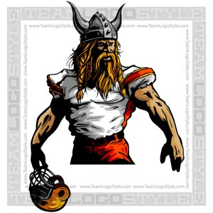 Viking with Football Helmet