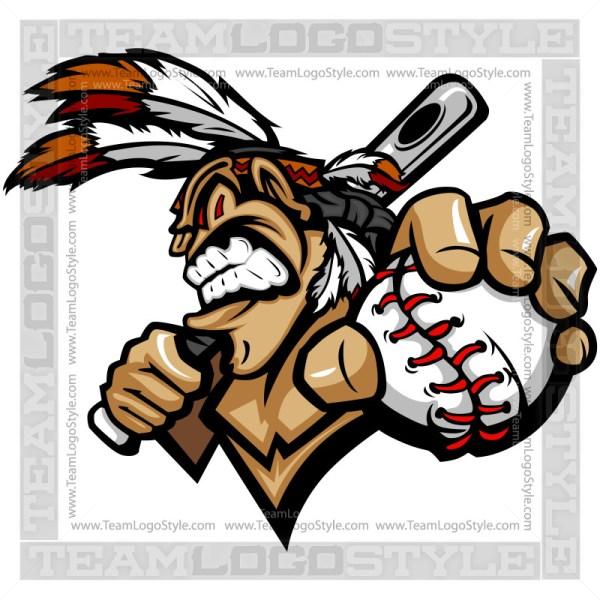 Brave Baseball Logo