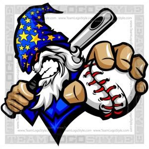 Wizard Baseball Logo