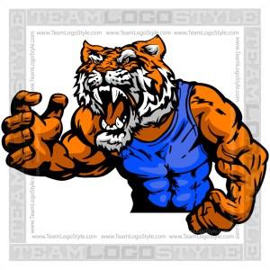 Tiger Wrestler Clip Art