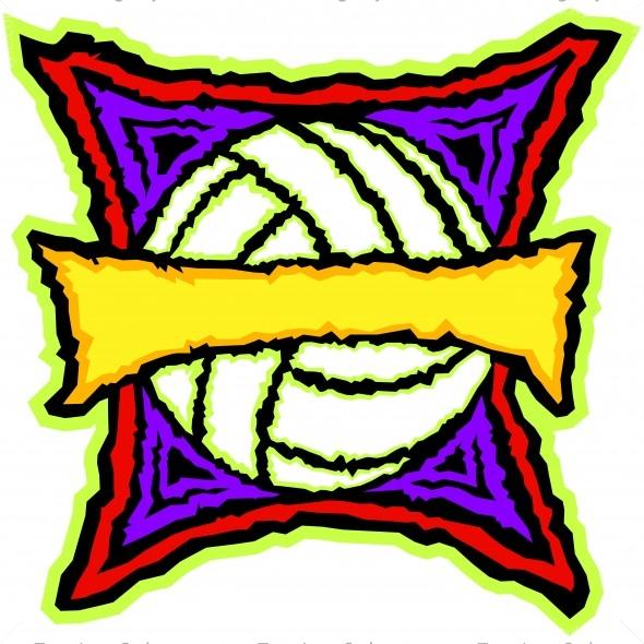 Cool Volleyball Shirt Design