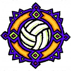 Volleyball Shirt Art