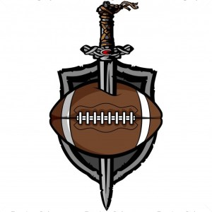 Viking Football Vector