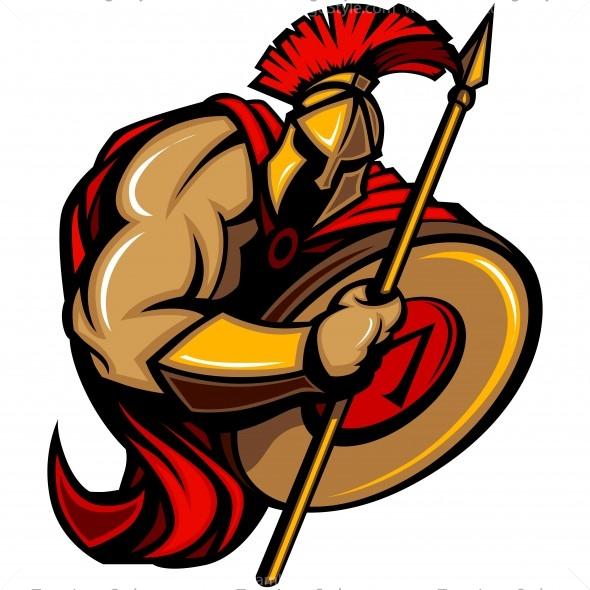 Spartan Mascot