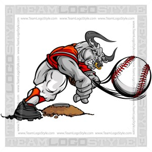 Baseball Pitcher Bull