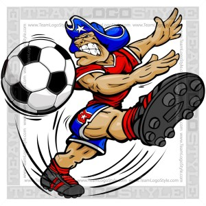 Soccer Patriot Cartoon