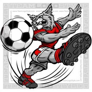 Soccer Wildcat Cartoon