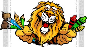 Lion Art Cartoon
