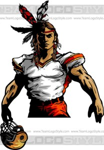Warrior Football Clipart