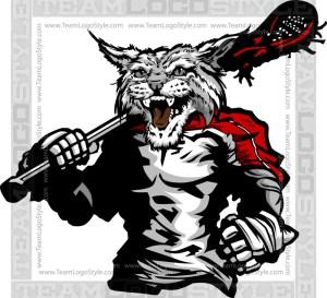 Wildcat Lacrosse Clipart