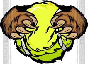 Bear Tennis Clipart